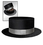 Rigid Set-up Box, Satin Mini Top Hat Box, QTY/CASE-12