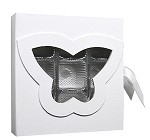 Rigid Set-up Box, CLOSEOUT, Butterfly Open Book Box, QTY/CASE-12