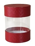 ASB-509 Small 5th Avenue Red Pretzel Cylinder, QTY/CASE-24