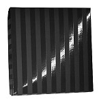 ASB-8040 CLOSEOUT Black Onyx Stripe- 8oz, QTY/CASE-50