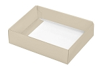 Folding Carton, This Top - That Bottom, Base, 4 oz., Rectangle, Pearlescent, Single-Layer, QTY/CASE-50