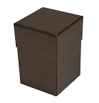 Rigid Set-up Box, Cube, 4-Tier, Petite, Deco Bronze, QTY/CASE-12