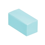 Folding Carton, Anytime Favor Box, 2-Piece, Standard, Robin Egg Blue, QTY/CASE-50