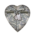 Heart Box, Military, 8 oz., QTY/CASE-24