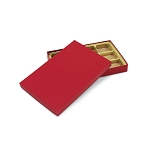 Rigid Set-up Box, Gift Box, Single-Layer, Rectangle, 8 oz., Red, QTY/CASE-12