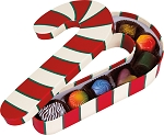 Rigid Set-up Box, Candy Cane, QTY/CASE-12