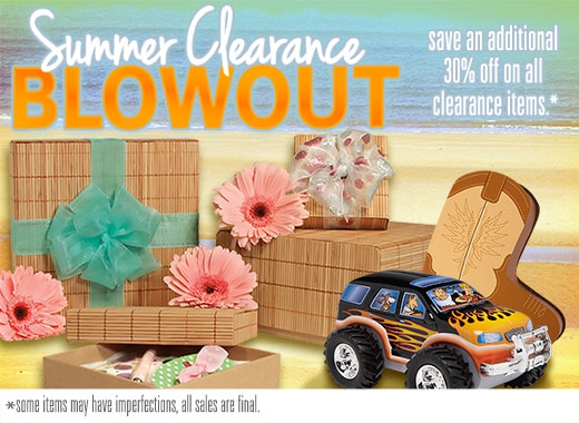 Summer Clearance Blowout