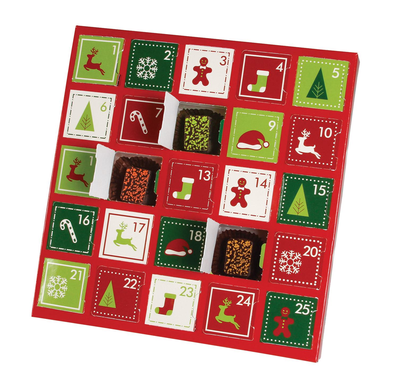 folding carton 1 piece square single layer holiday surprise