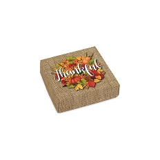 Thankful, Decorative Gift Box, 3-1/2 x 3-1/2 x 1-1/8