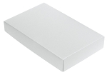 This Top - That Bottom, Lid, Rectangle, White, 7-1/8 x 4-1/2 x 1-1/8