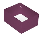 This Top - That Bottom, Base, Rectangle, Purple, Double-Layer, 4-1/2 x 3-3/4 x 2-1/4