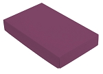 Folding Carton, CLOSEOUT, This Top - That Bottom, Lid, 8 oz., Rectangle, Purple, QTY/CASE-50