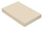 Folding Carton, This Top - That Bottom, Lid, 16 oz., Rectangle, Pearlescent, QTY/CASE-50