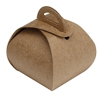 Folding Carton, Favor Box, 1-Piece, Mini, Kraft, QTY/CASE-50