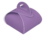 Folding Carton, CLOSEOUT, Favor Box, 1-Piece, Lavender, QTY/CASE-50