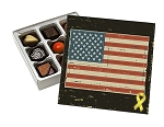 American Pride, Decorative Gift Box, 5-1/2 x 5-1/2 x 1-1/8