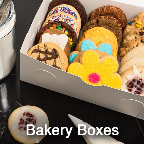 Folding Carton Bakery Boxes