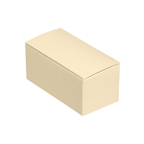 Anytime Favor Box, 2-Piece, Cream, 2-3/4 x 1 x 1-1/4