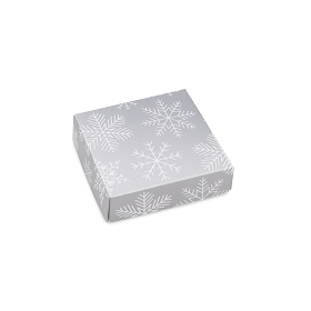 Blizzard, Decorative Gift Box, 3-1/2 x 3-1/2 x 1