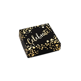 Celebrate, Decorative Gift Box, 3-1/2 x 3-1/2 x 1