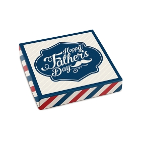 Father's Day, Decorative Gift Box, 5-1/2 x 5-1/2 x 1