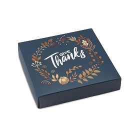 Give Thanks, Decorative Gift Box, 5-1/2 x 5-1/2 x 1