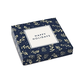 Happy Holidays, Decorative Gift Box, 5-1/2 x 5-1/2 x 1
