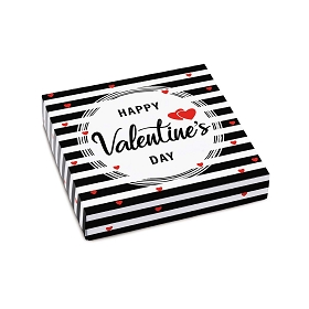 Happy Valentine's Day, Decorative Gift Box, 5-1/2 x 5-1/2 x 1