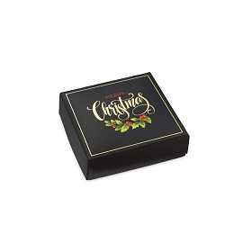 Merry Christmas, Decorative Gift Box, 3-1/2 x 3-1/2 x 1