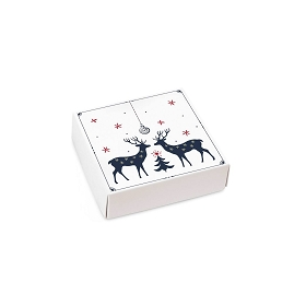 One Winter Night, Decorative Gift Box, 3-1/2 x 3-1/2 x 1