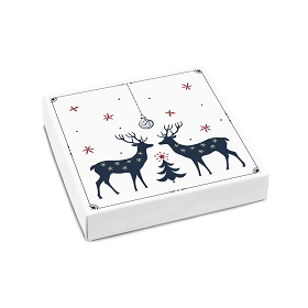 One Winter Night, Decorative Gift Box, 5-1/2 x 5-1/2 x 1