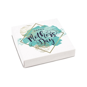 Mother's Day, Turquoise, Decorative Gift Box, 5-1/2 x 5-1/2 x 1