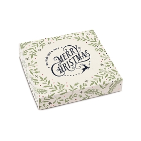 Very Merry Christmas, Cream, Decorative Gift Box, 5-1/2 x 5-1/2 x 1