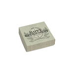 Folding Carton, Lid, 3 oz., Petite, Square, Happy Retirement, QTY/CASE-50