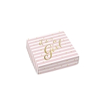 Folding Carton, Lid, 3 oz., Petite, Square, IT'S A GIRL, QTY/CASE-50