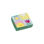 Folding Carton, Lid, 3 oz., Petite, Square, Easter, QTY/CASE-50