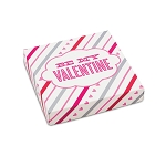 Be My Valentine box, Decorative Gift Box, 5-1/2 x 5-1/2 x 1-1/8