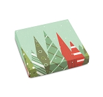 Christmas Trees, Decorative Gift Box, 5-1/2 x 5-1/2 x 1-1/8