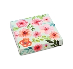 Folding Carton, Lid, 8 oz., Square, Floral box, QTY/CASE-50