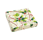 Hollyday, Decorative Gift Box, 5-1/2 x 5-1/2 x 1-1/8