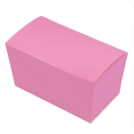 Folding Carton, Ballotin Box, Pink, 6-3/4
