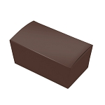 Folding Carton, Ballotin Box, Brown, 6