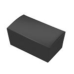 Folding Carton, Ballotin Box, Black, 6