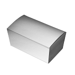 Folding Carton, Ballotin Box, Silver, 6