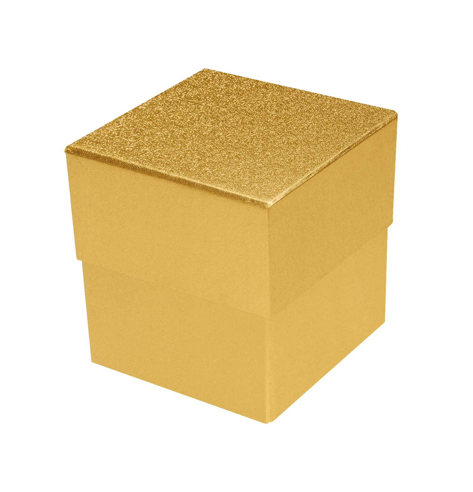 Rigid Set Up Box Cube 3 Tier Petite Gold Qty Case 24