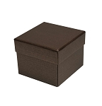 Rigid Set-up Box, Cube, 2-Tier, Petite, Deco Bronze, QTY/CASE-24