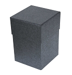 Rigid Set-up Box, Cube, 4-Tier, Petite, Charcoal Sapphire, QTY/CASE-12