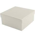 Rigid Set-up Box, Cube, 2-Tier, Pearlescent, QTY/CS-24