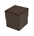 Rigid Set-up Box, Cube, 3-Tier, Petite, Deco Bronze, QTY/CASE-24