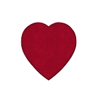 Heart Box, Truffle Depth, Velvet, 4 oz., QTY/CASE-24